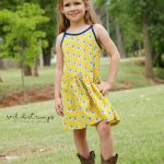 Hally Dress sewn by Red Dirt Rumps