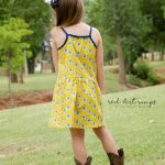 Hally Dress sewn by Red Dirt Rumps back