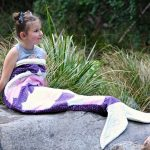 Melody Mermaid Tail sewn by Missy Moo Ruffles and Frills