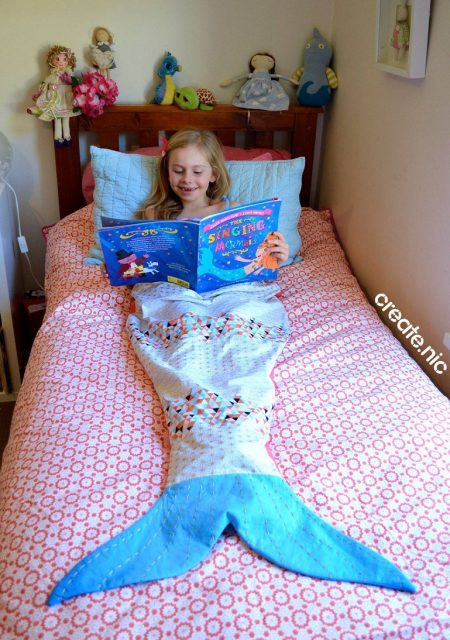 Melody Mermaid Tail sewn by create.nic
