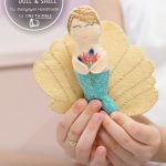 Mermaid Pocket Doll & Shell Sewing Pattern Cover