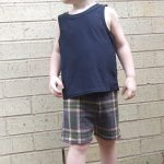 Scuttle Shorts sewn by Kellie