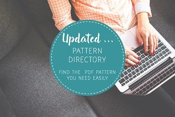 Updated Pattern Directory - find your PDF patterns easily