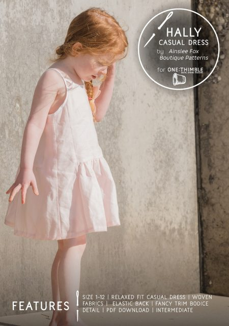 Hally Dress Sewing Pattern Cover