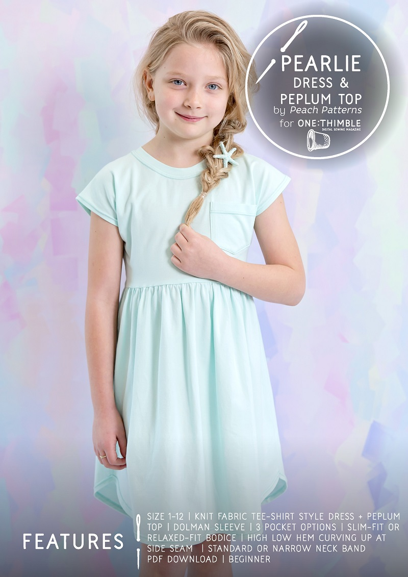 Pearlie Dress Sewing Pattern Cover