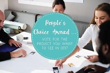 Vote for your favourite project in our people's choice award