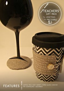 Teachers'Gift Pack Stand Alone Pattern Cover