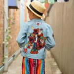 Big Day Out Jacket back view photographed by Poetic Light Photography
