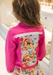 Big Day Out Jacket back view sewn by Beetles Bugs and Butterflies