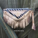 Festival Clutch sewn by Deadly Mojo Sewing