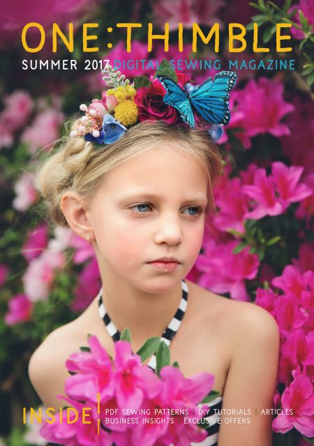 One Thimble Digital Sewing Magazine Issue 17 Cover