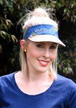 POSSE Ladies Visor Sewn by Jenna of Apple and Fig 1