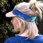 POSSE Ladies Visor Sewn by Jenna of Apple and Fig 2