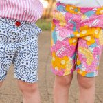 Port Shorts sewn by curtiepie