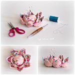 my China Doll Blossom Flower Pincushion