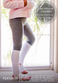 #120 Footloose Leggings Stand Alone Pattern Cover