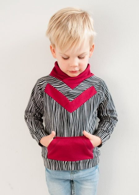 Origami Sweater sewn by Ashley