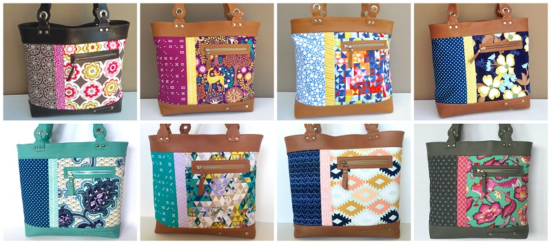 Pic 5 - Winona Tote Collage