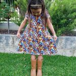 Playtime Dress without pockets sewn by Amy