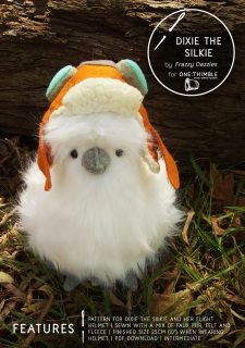 Dixie the Silkie Stand Alone Cover