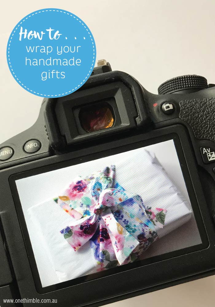 How to guide for wrapping handmade gifts